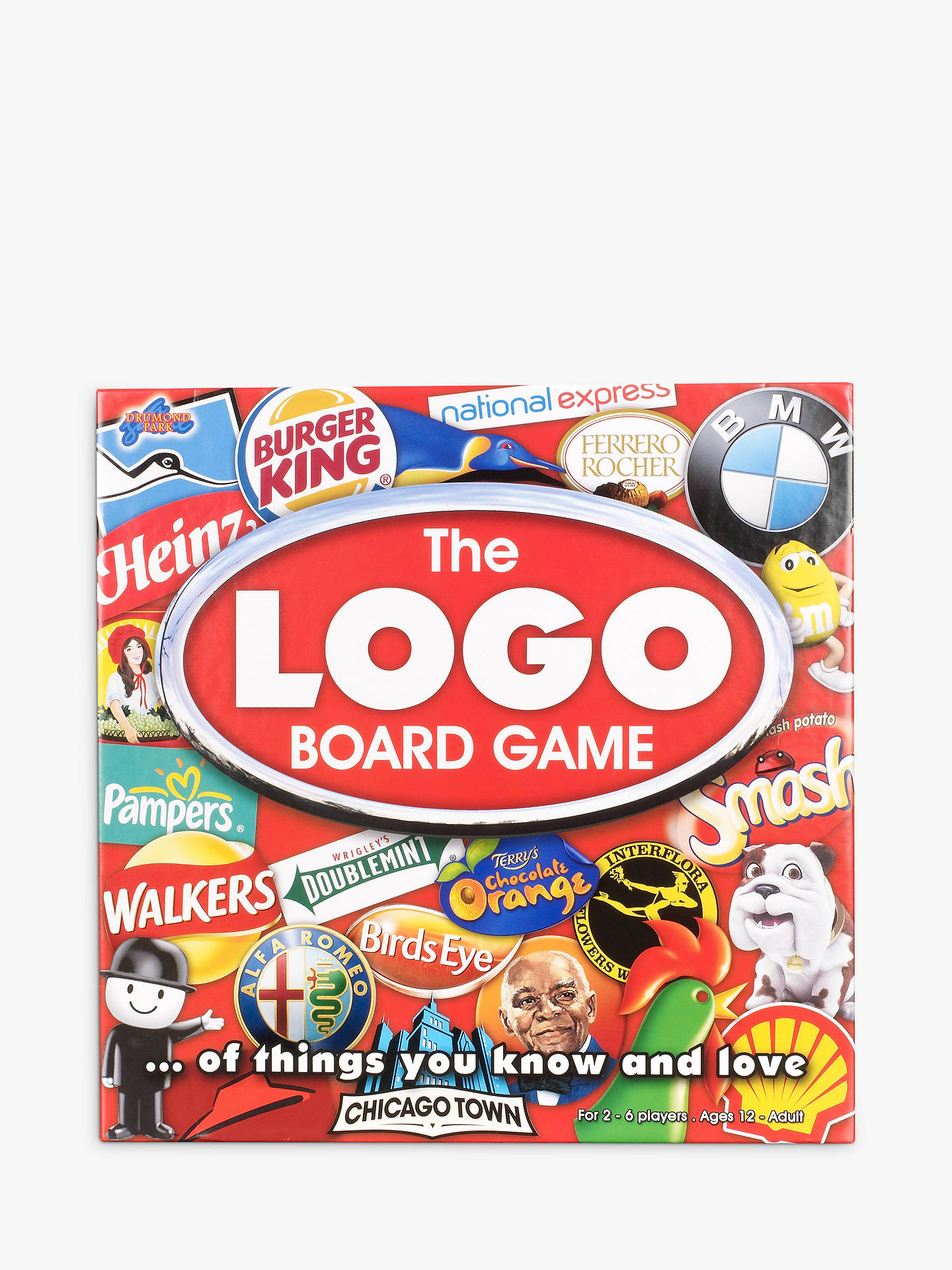 Buy Drummond Park The Logo Board Game Online at johnlewis.com