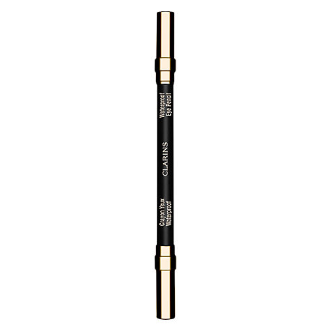 Buy Clarins Waterproof Eye Liner Pencil, 01 Black Online at johnlewis.com