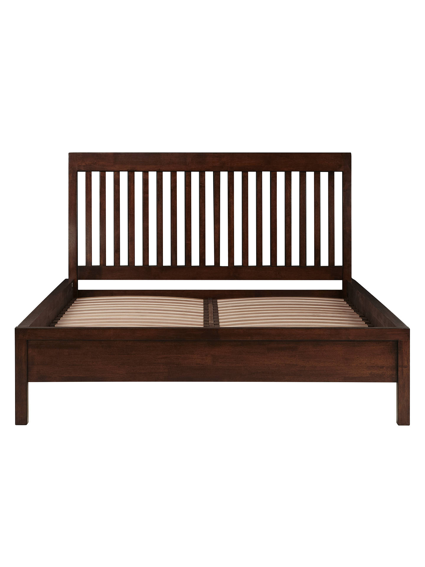 Admirable John Lewis Kerala Bedstead Rich Cherry Double At John Bralicious Painted Fabric Chair Ideas Braliciousco