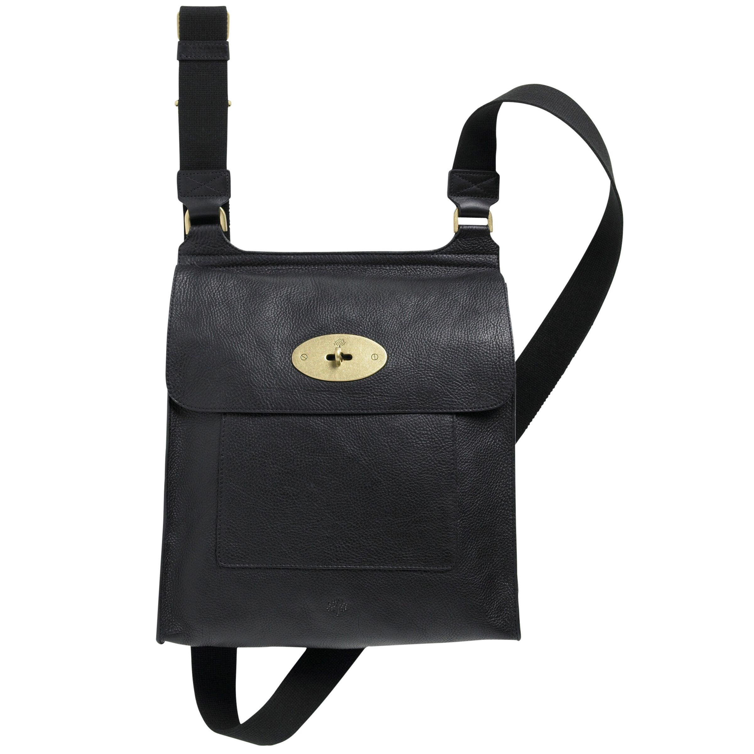 ded8d177e813 Mulberry Antony Leather Messenger Cross Body Bag at John Lewis & Partners