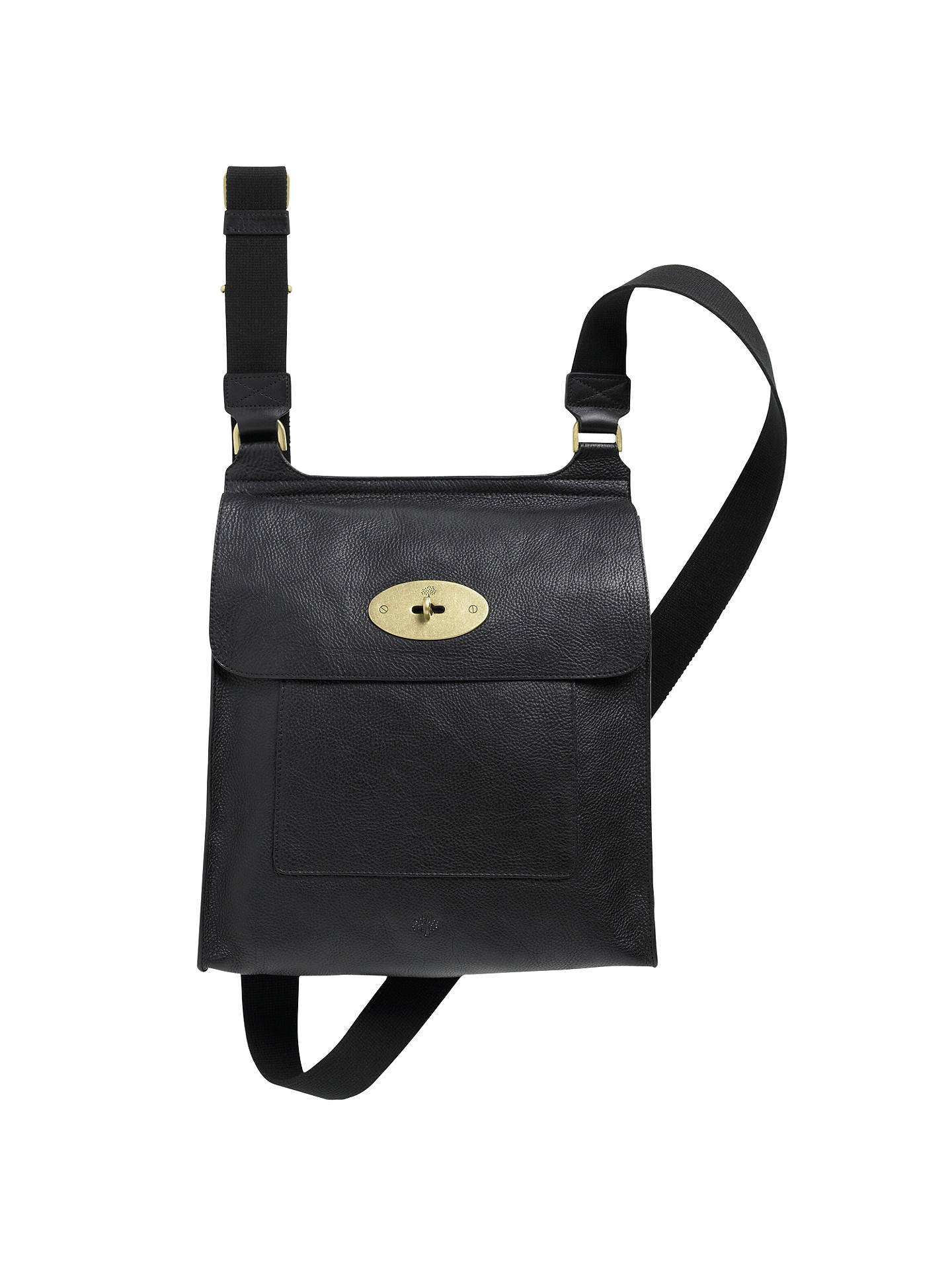 watch outlet online new arrivals Mulberry Antony Leather Messenger Cross Body Bag at John Lewis ...