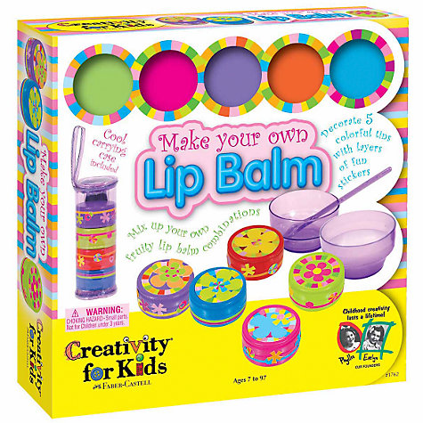 Buy Creativity for Kids Make Your Own Lip Balm Online at johnlewis.com