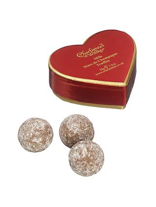 Charbonnel et Walker Mini Red Heart Champagne Truffle, 34g