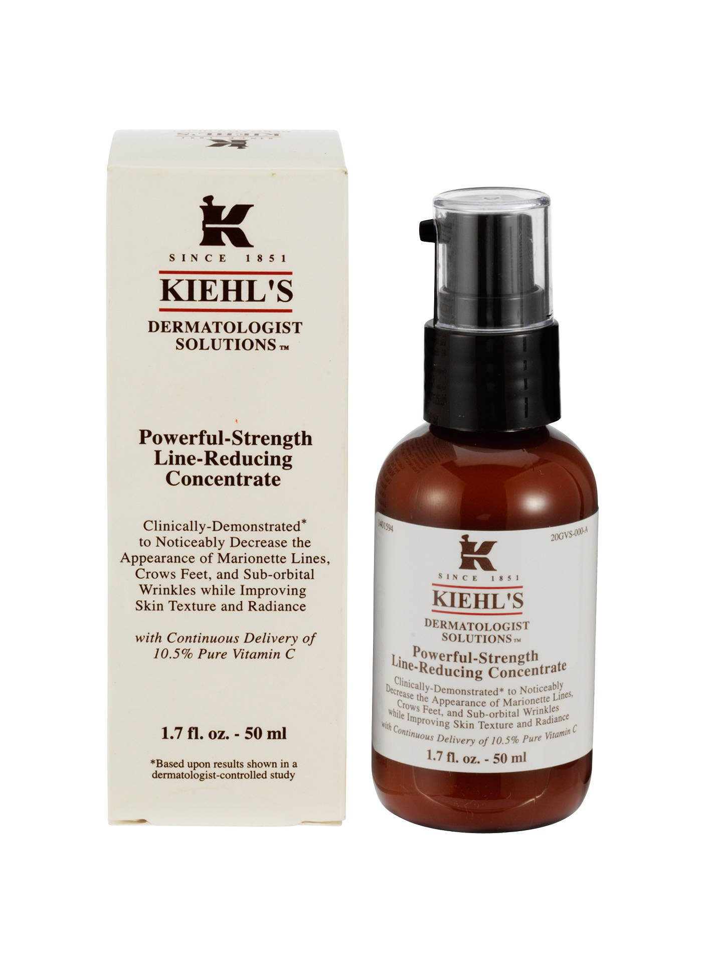 BuyKiehls Powerful Strength Line Reducing Concentrate, 50ml Online at johnlewis.com