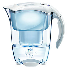 Buy Brita Elemaris Meter Water Filter Jug, Cool White Online at johnlewis.com