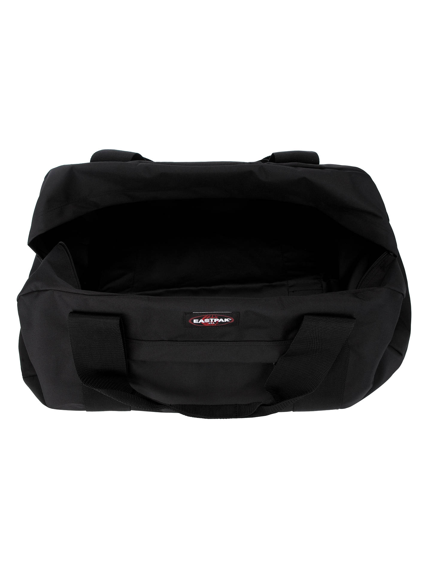BuyEastpak Terminal Holdall, Black Online at johnlewis.com