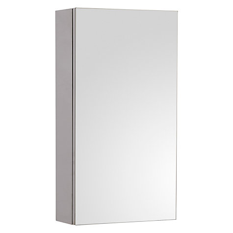 Buy John Lewis Single Mirrored Bathroom Cabinet Small