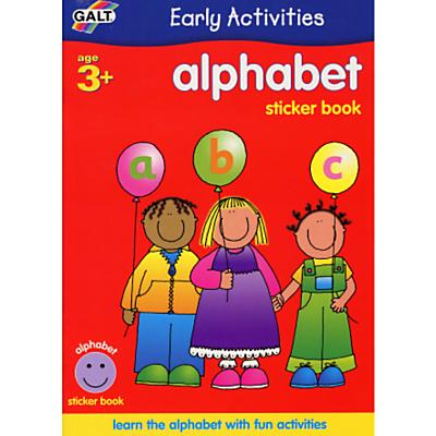 Galt Early Activities Alphabet Sticker Book