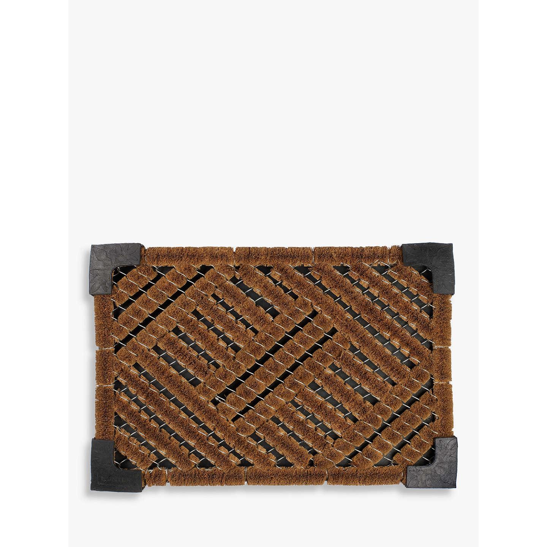John Lewis Coir Doormat Rug Natural At John Lewis