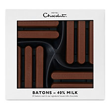 Buy Hotel Chocolat Milk Chocolate Batons, 160g Online at johnlewis.com