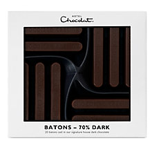 Buy Hotel Chocolat Dark Chocolate Batons, 160g Online at johnlewis.com
