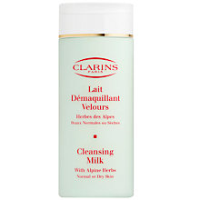 Buy Clarins Cleansing Milk - For Normal/Dry Skin, 200ml Online at johnlewis.com