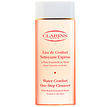 Buy Clarins Water Comfort One-Step Cleanser, 200ml Online at johnlewis.com