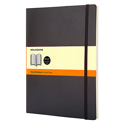Product photo of Moleskine ruled notepad extra large