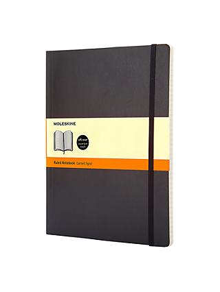 Moleskine Extra Large Soft Cover Ruled Notebook