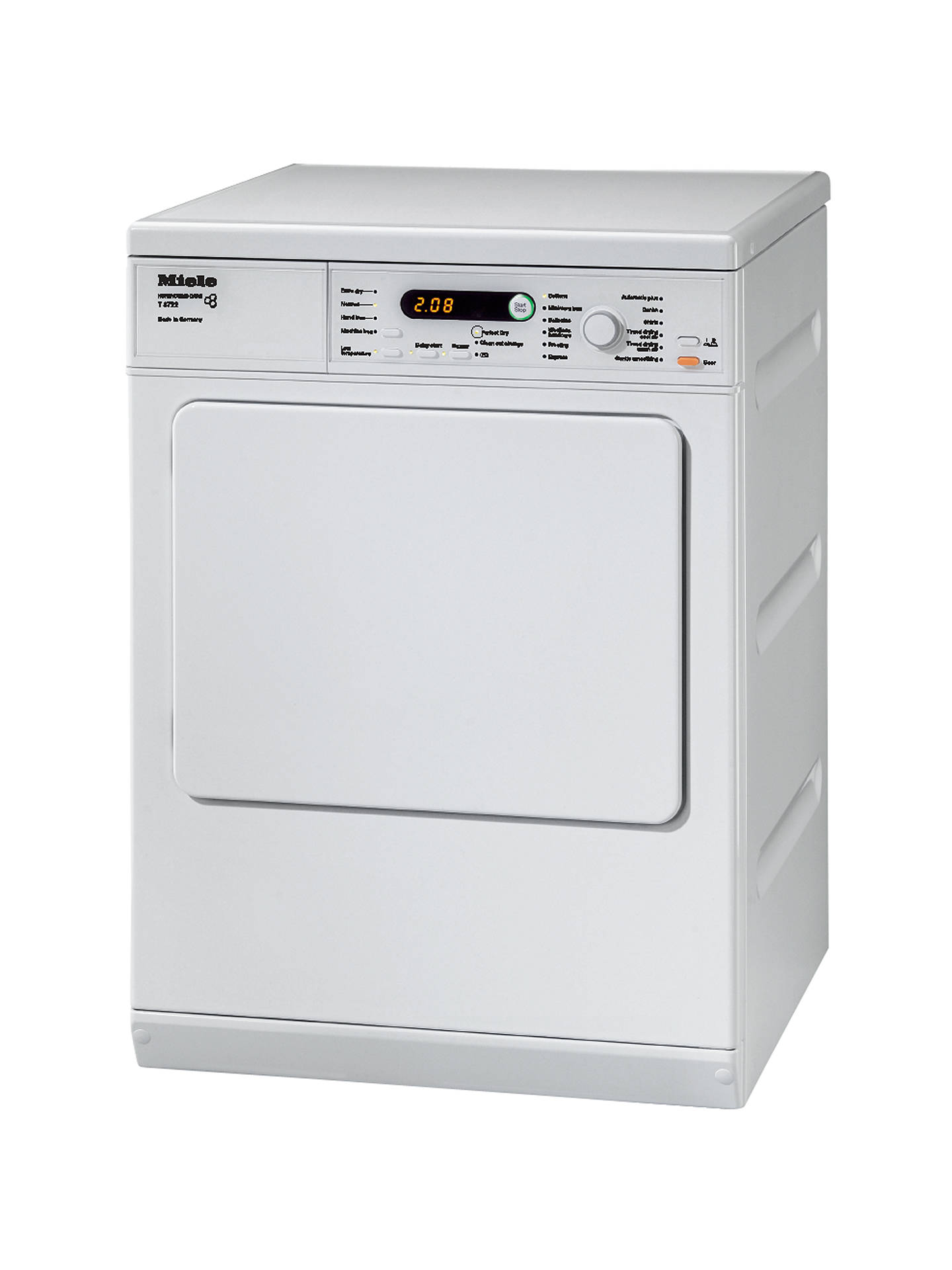 BuyMiele T8722 Vented Tumble Dryer 7kg Load C Energy Rating White Online At
