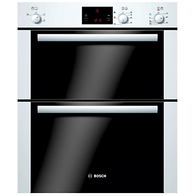 Image of 600mm Built-under Electric Double Oven LED White