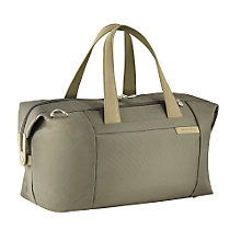 Buy Briggs & Riley Large Travel Holdall, Olive Online at johnlewis.com