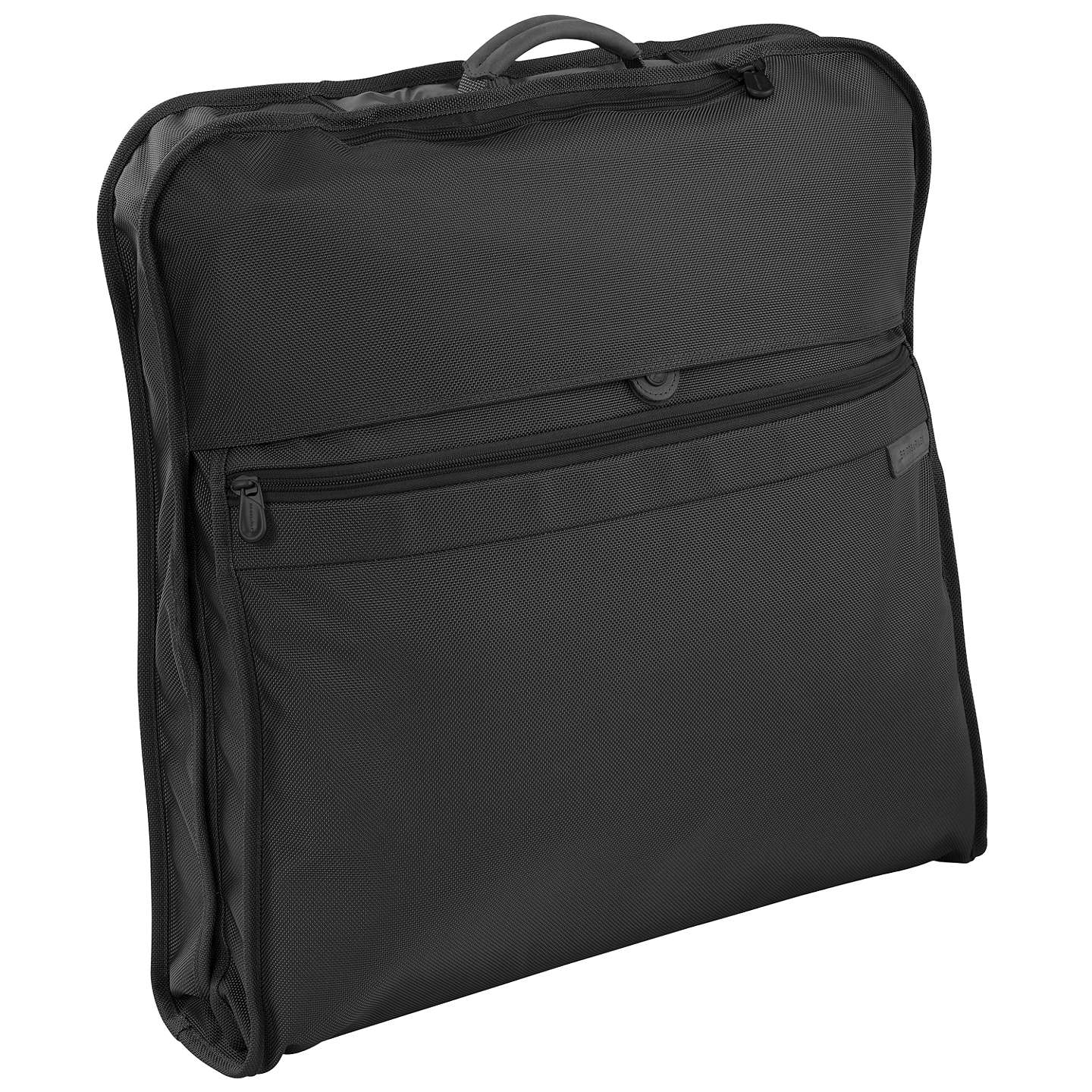 Briggs riley classic suit and garment bag black at john for Wedding dress garment bag for air travel
