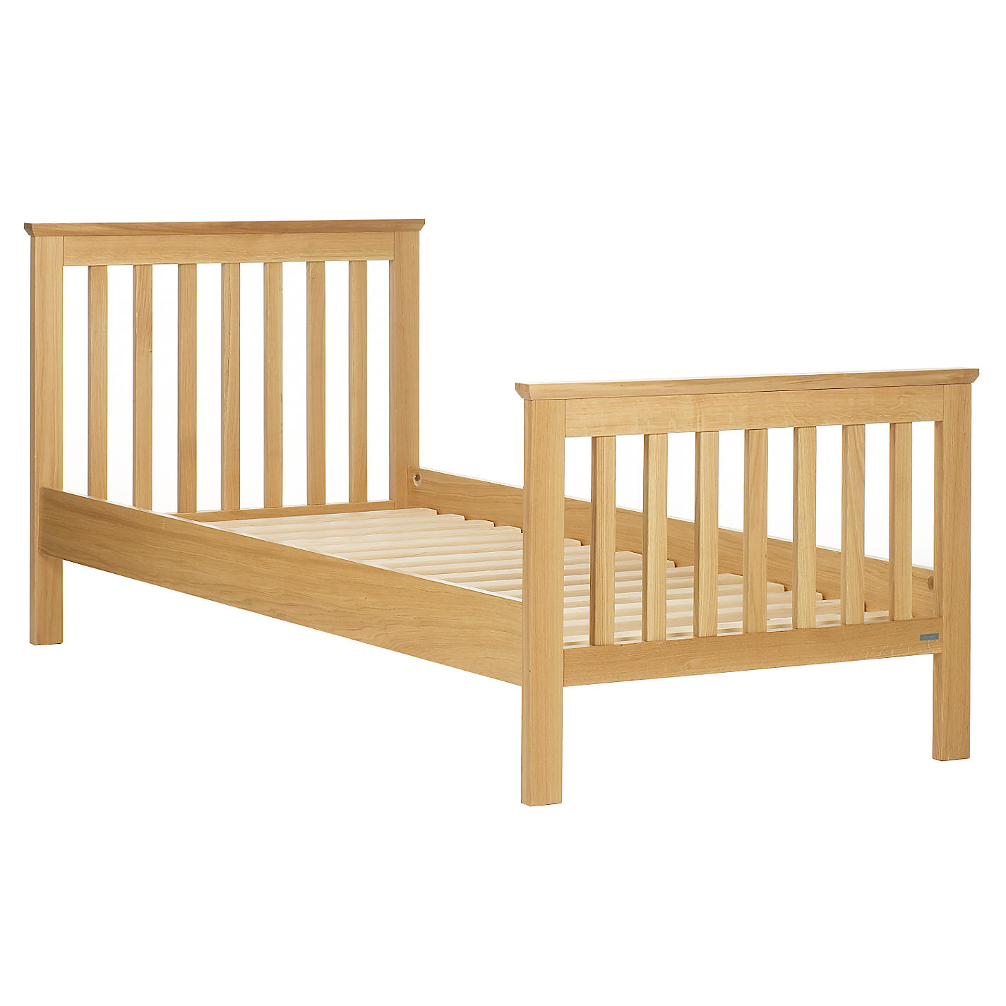 Buy John Lewis Lasko Single Bed Frame Oak Online At Johnlewis