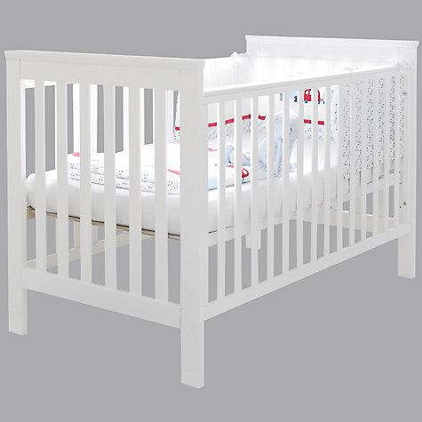Buy John Lewis Lasko Cotbed, White Online at johnlewis.com