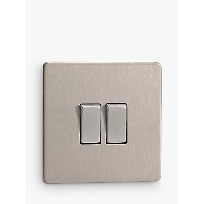 Product photo of Varilight 2 gang 2way rocker switch