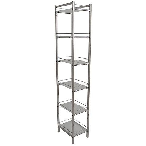 Buy John Lewis Ice 6 Tier Shelf Unit Online at johnlewis.com
