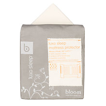 Buy Bloom Luxo Sleep Mattress Protector, Natural Wheat Online at johnlewis.com