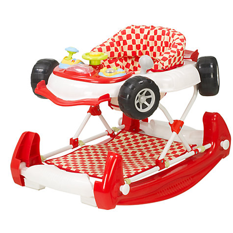 Buy My Child Car Baby Walker & Rocker, Red Online at johnlewis.com