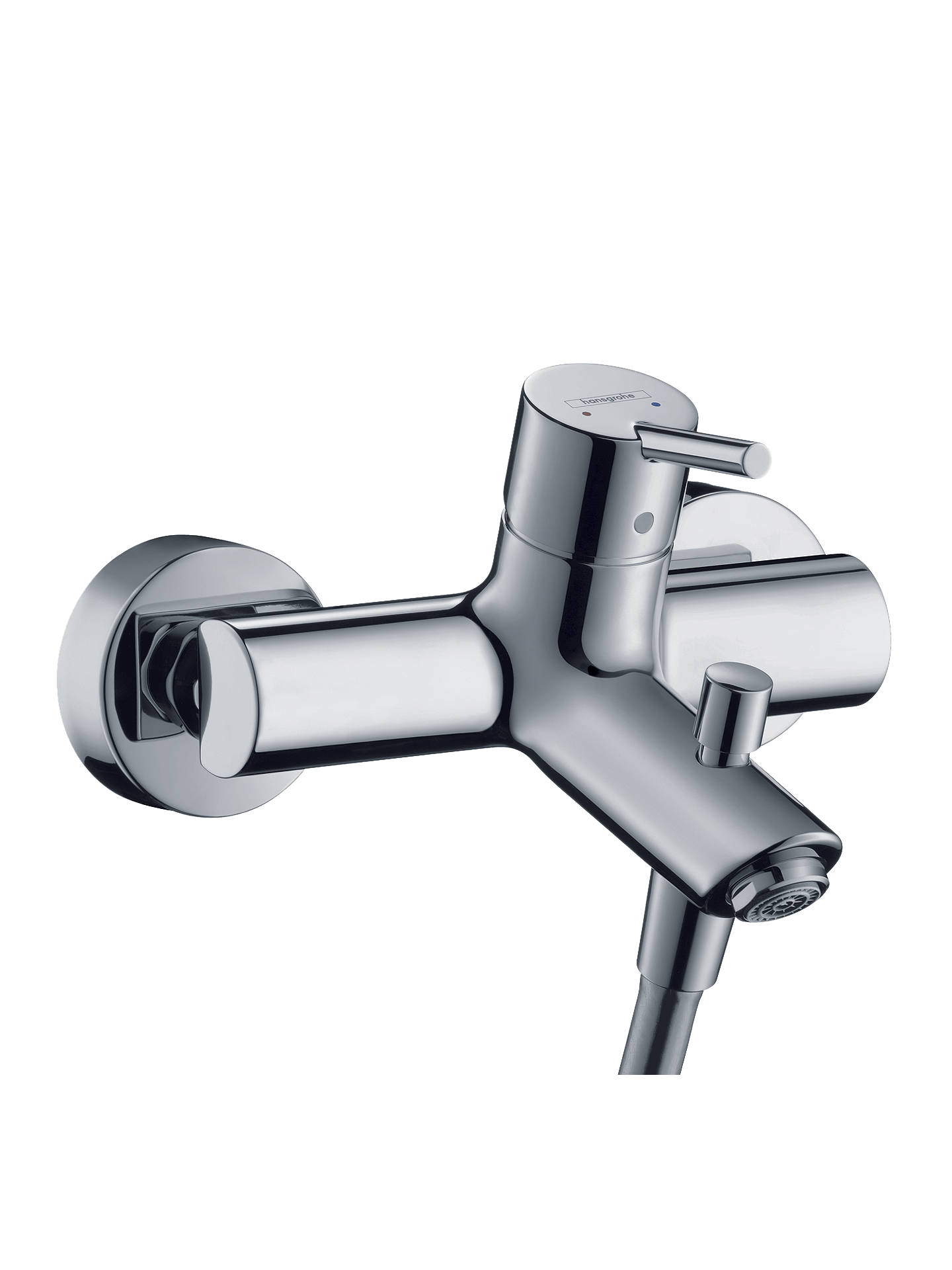 Hansgrohe Talis S2 Single Lever Bath / Shower Mixer Tap, Chrome at ...
