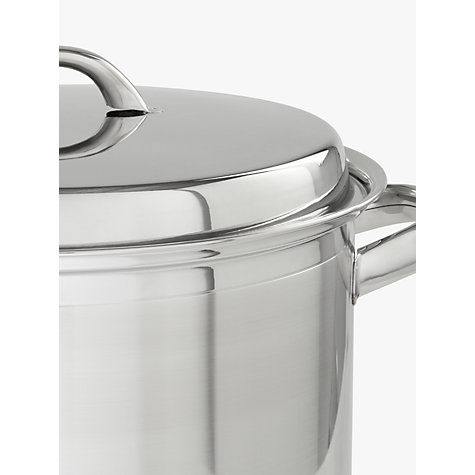 Buy John Lewis Classic Stockpot, 6.5L, 24cm Online at johnlewis.com