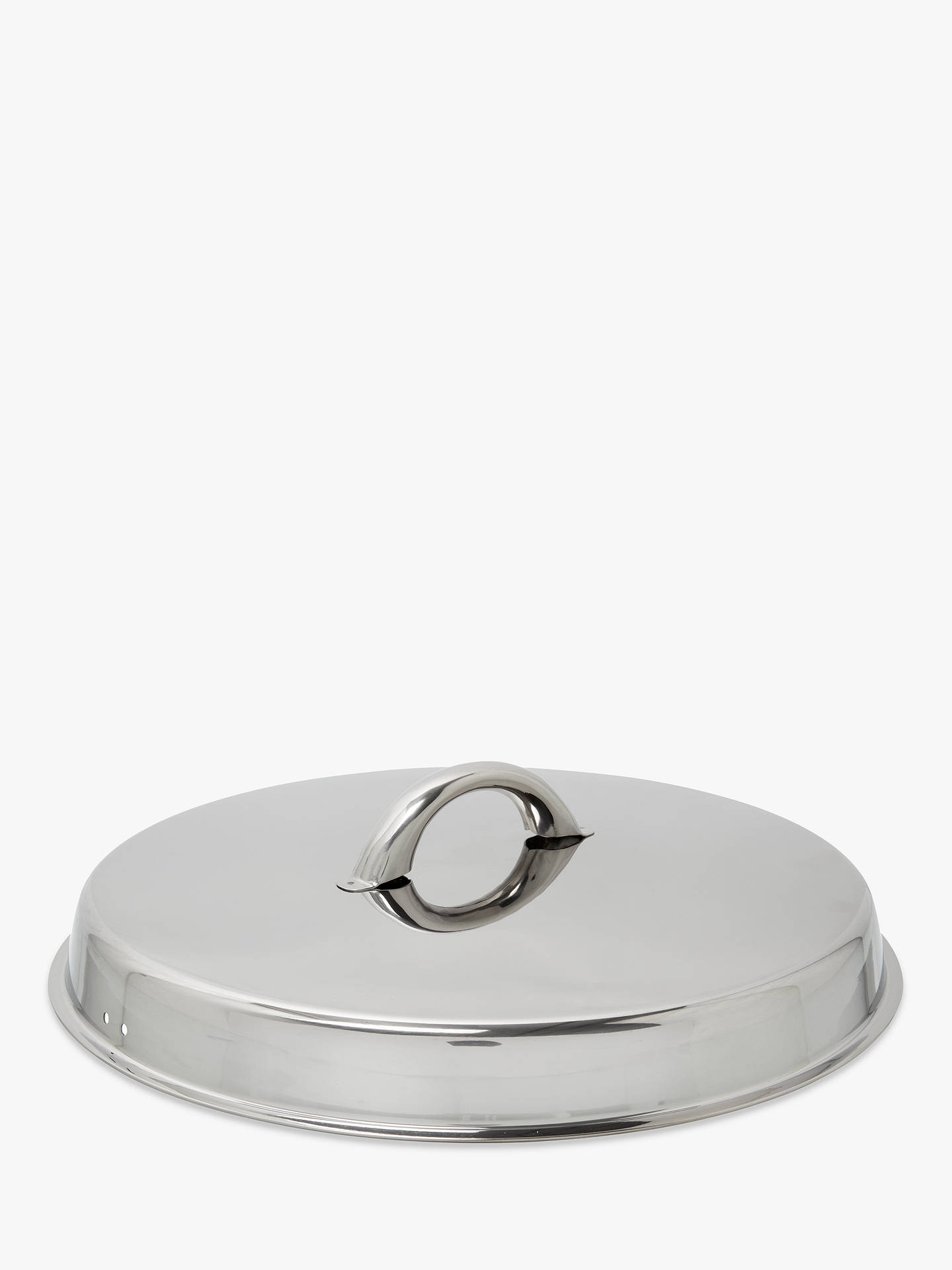 Buy John Lewis & Partners Classic Stainless Steel Stockpot, 6.5L, 24cm Online at johnlewis.com