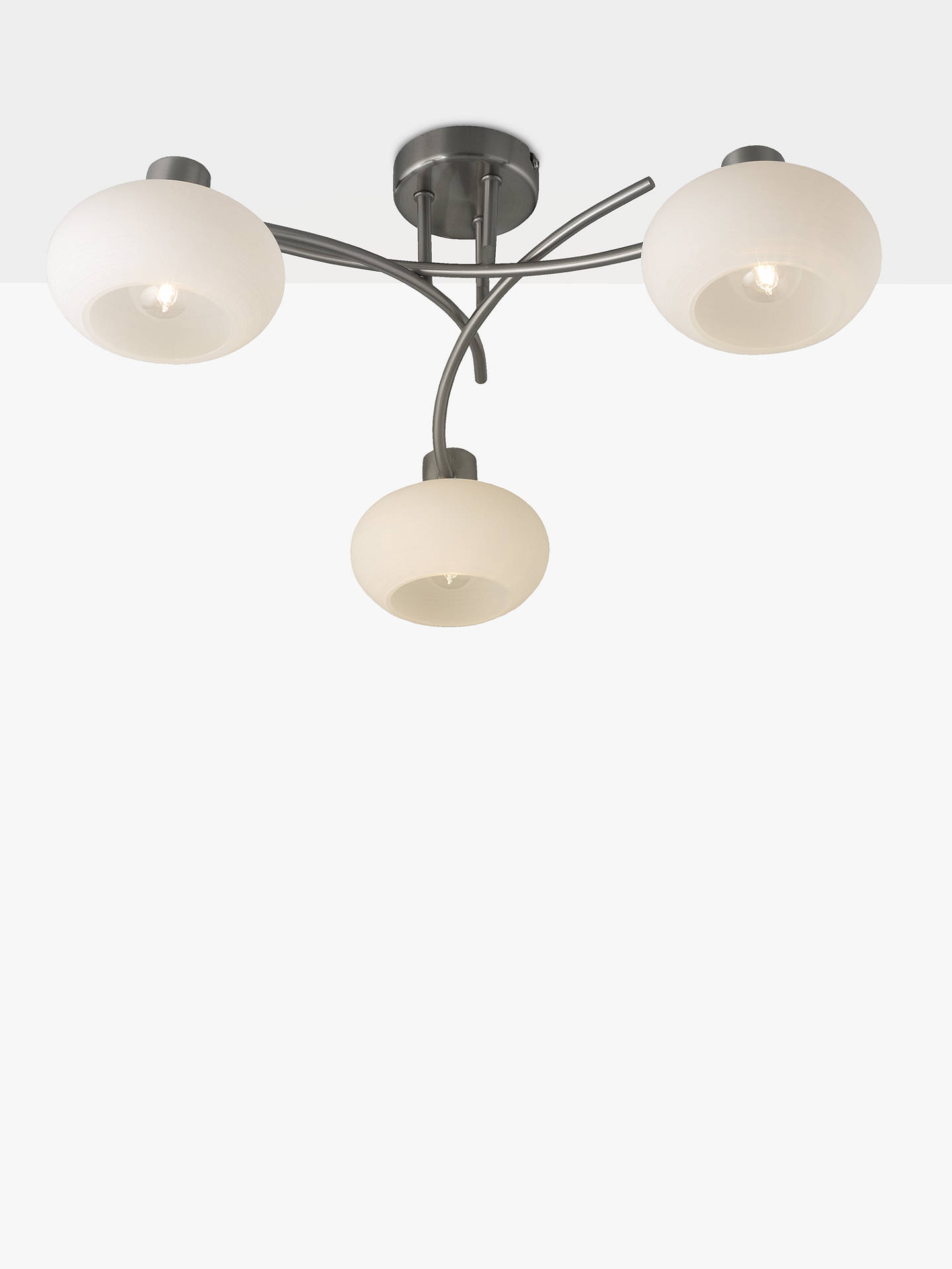 BuyJohn Lewis & Partners Elio 3 Arm Ceiling Light Online at johnlewis.com
