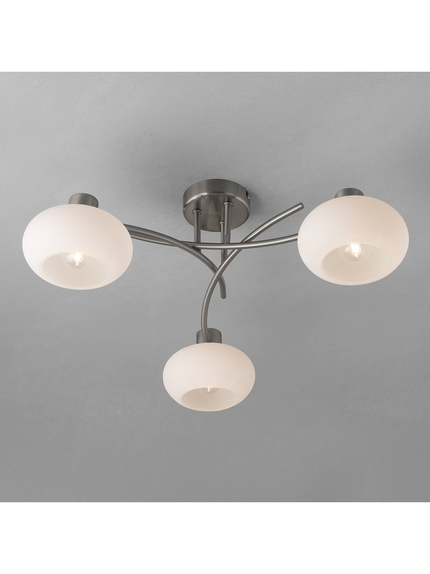 John Lewis Partners Elio 3 Arm Ceiling Light