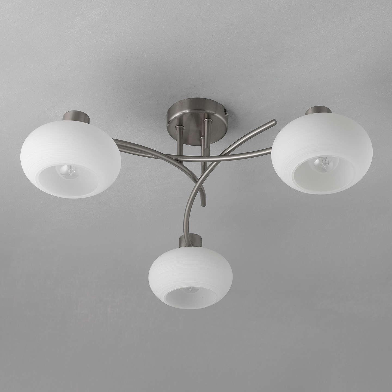 John Lewis Elio Ceiling Light, 3 Arm At John Lewis