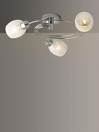 John Lewis & Partners Maya 3 Arm Ceiling Light