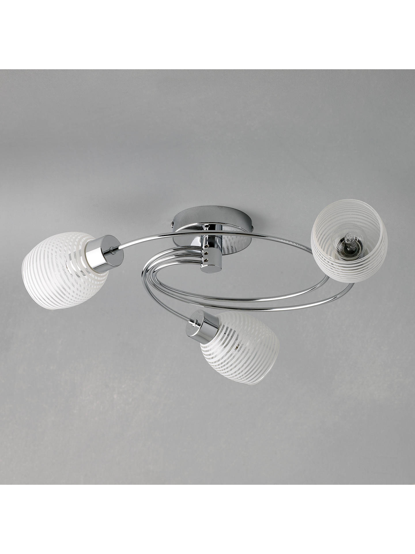 BuyJohn Lewis & Partners Maya 3 Arm Ceiling Light Online at johnlewis.com