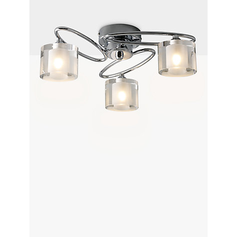 Buy Zola 3 Light Ceiling Fitting Online at johnlewis.com