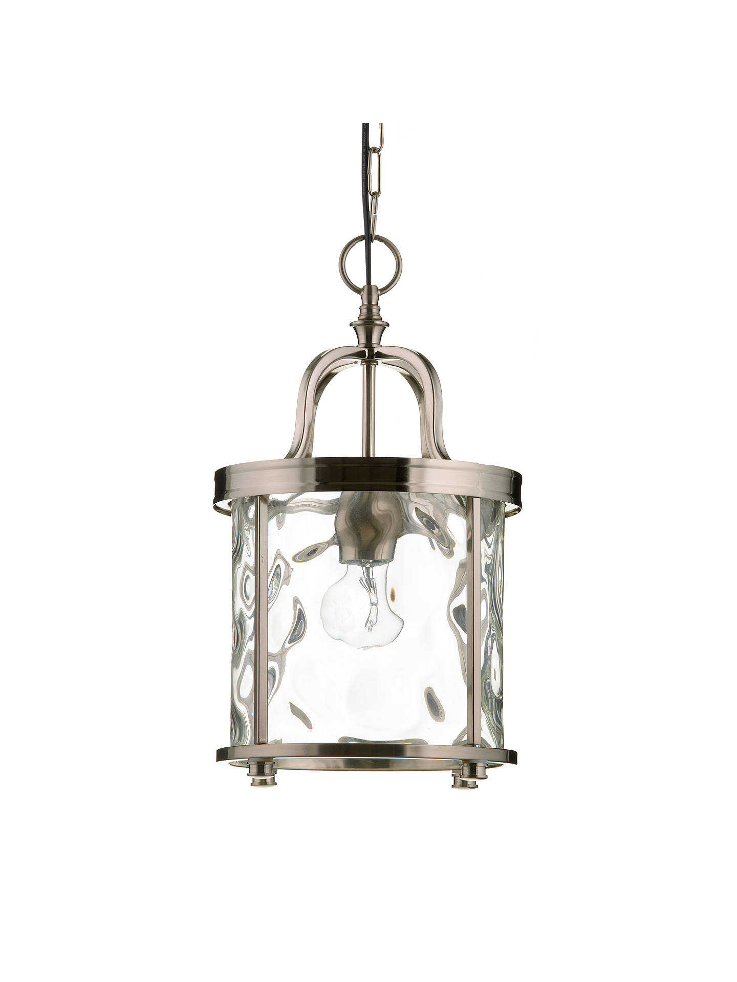 BuyJohn Lewis Warwick Lantern, Nickel Online at johnlewis.com