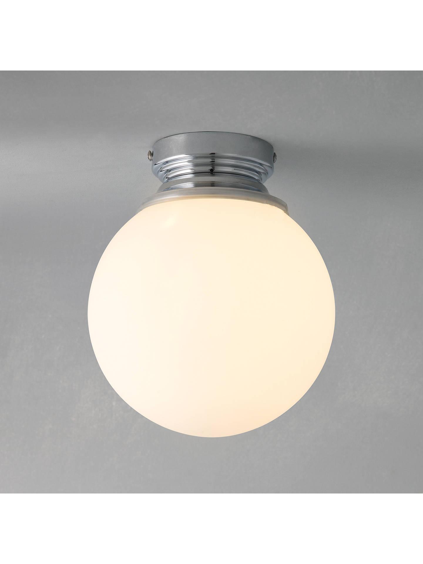 low priced ee625 f4909 John Lewis Giles Bathroom Ceiling Light at John Lewis & Partners