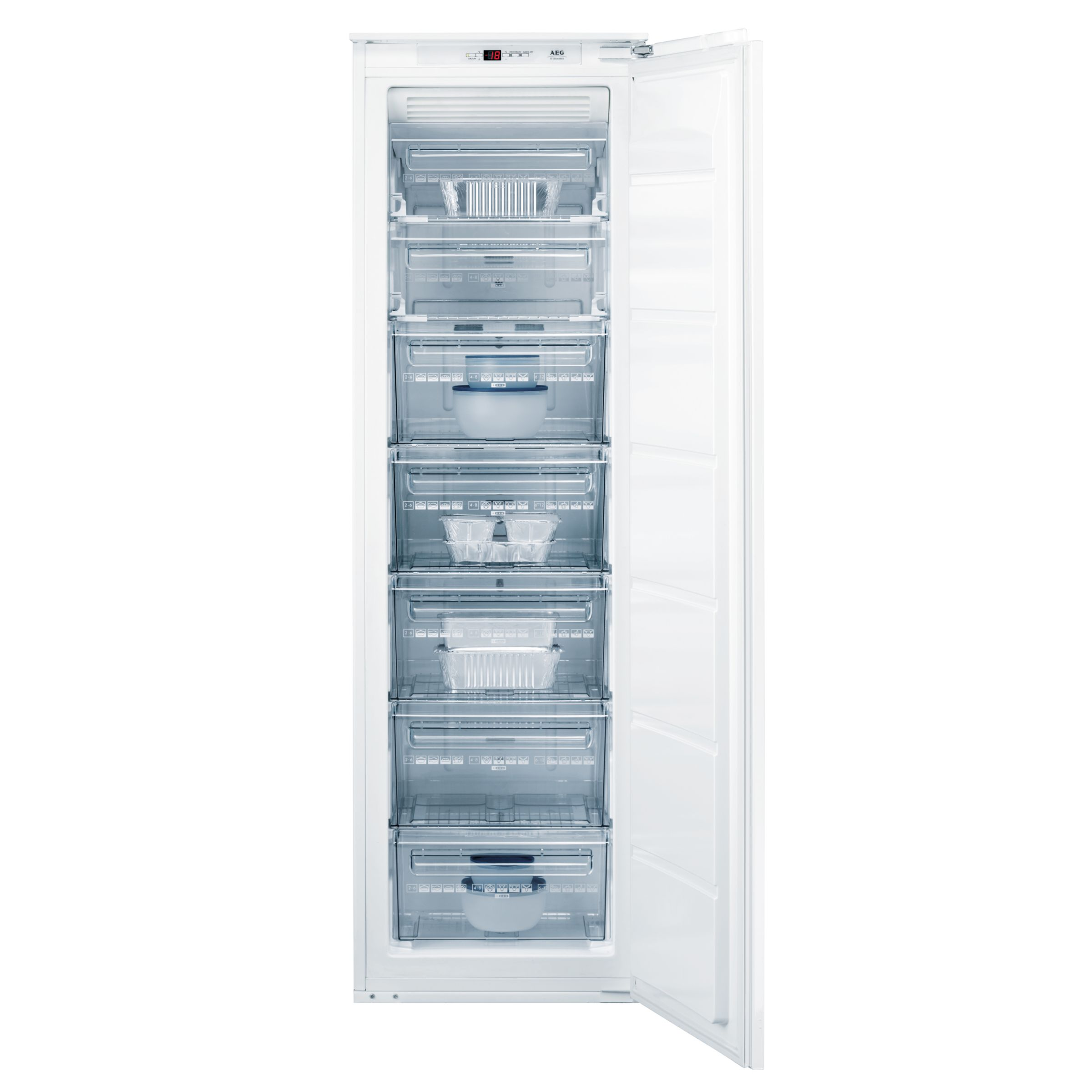 AEG AG918504I Tall Integrated Freezer