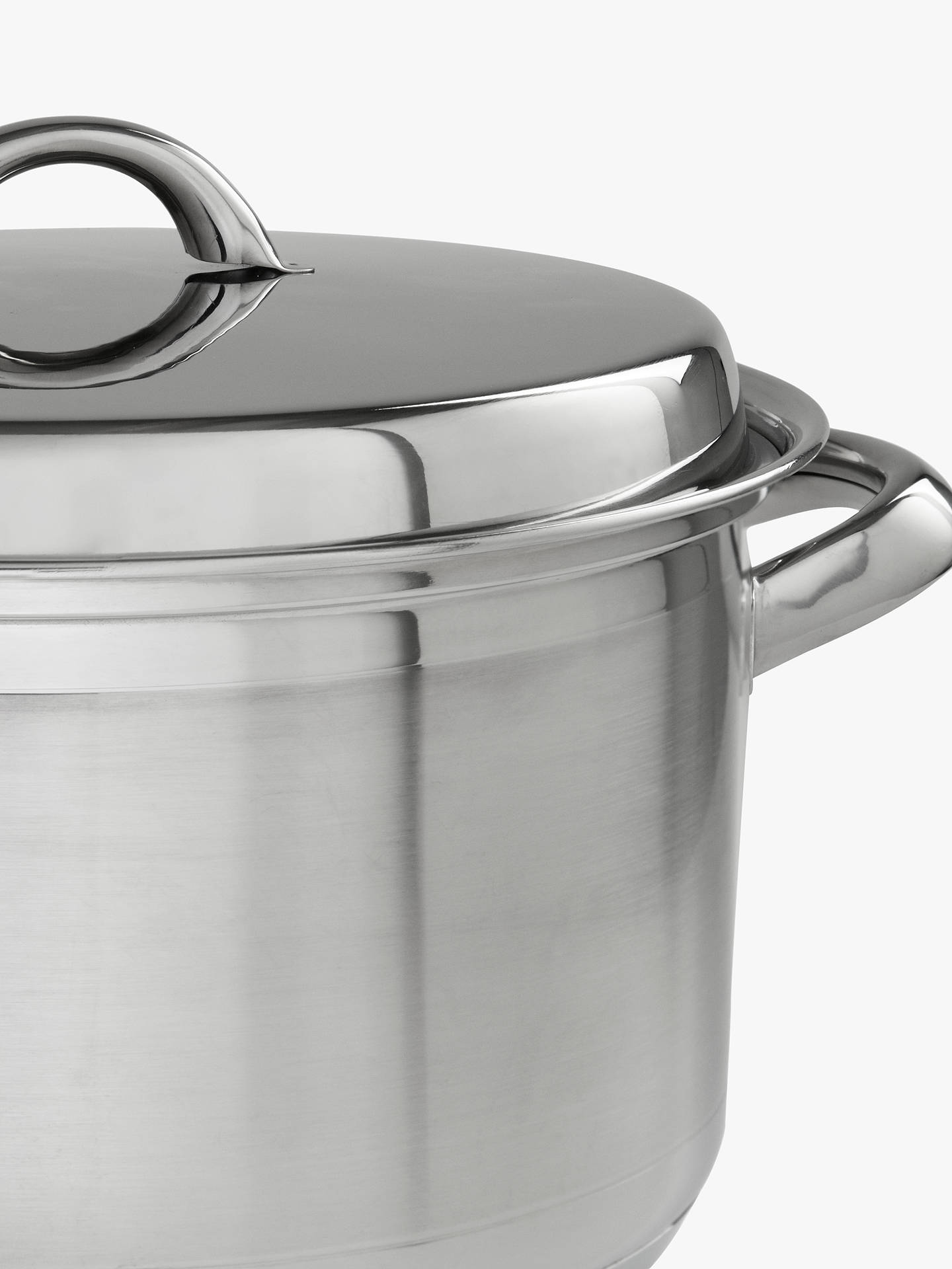 BuyJohn Lewis & Partners Classic Lidded Casserole, 24cm, 5L Online at johnlewis.com