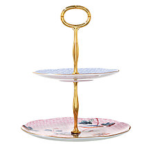 Buy Wedgwood Cuckoo 2 Tier Cake Stand Online at johnlewis.com