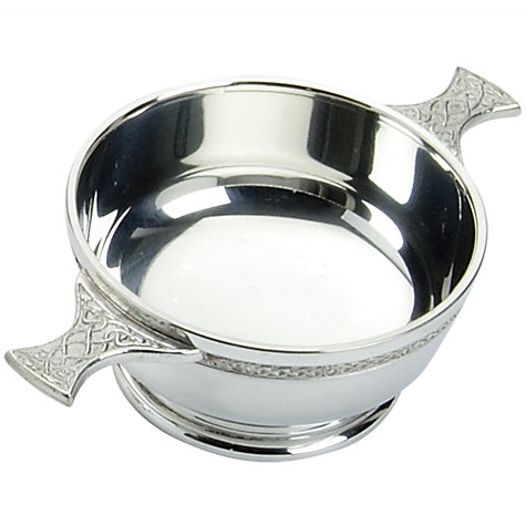Buy John Lewis Pewter Celtic Quaich Online at johnlewis.com