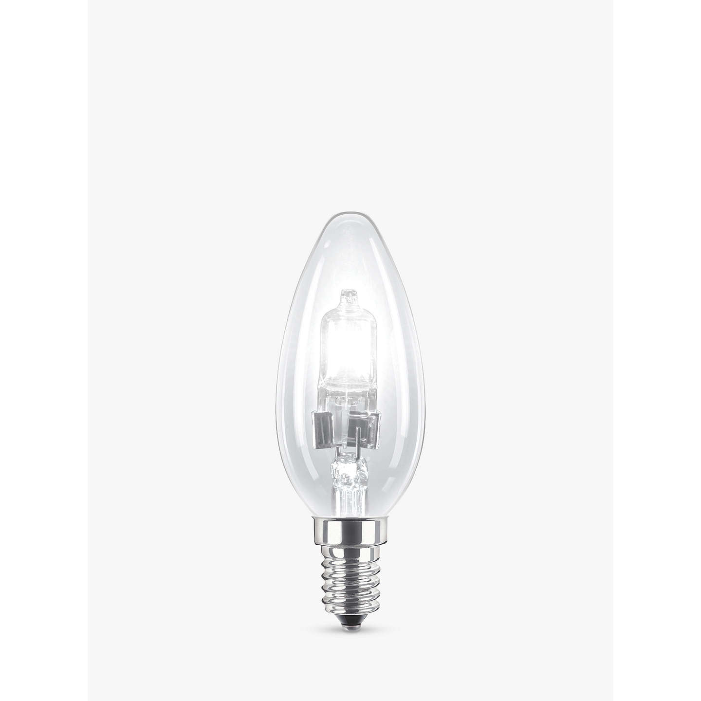 BuyPhilips 42W SES Halogen Classic Candle Bulb, Clear Online at johnlewis.com