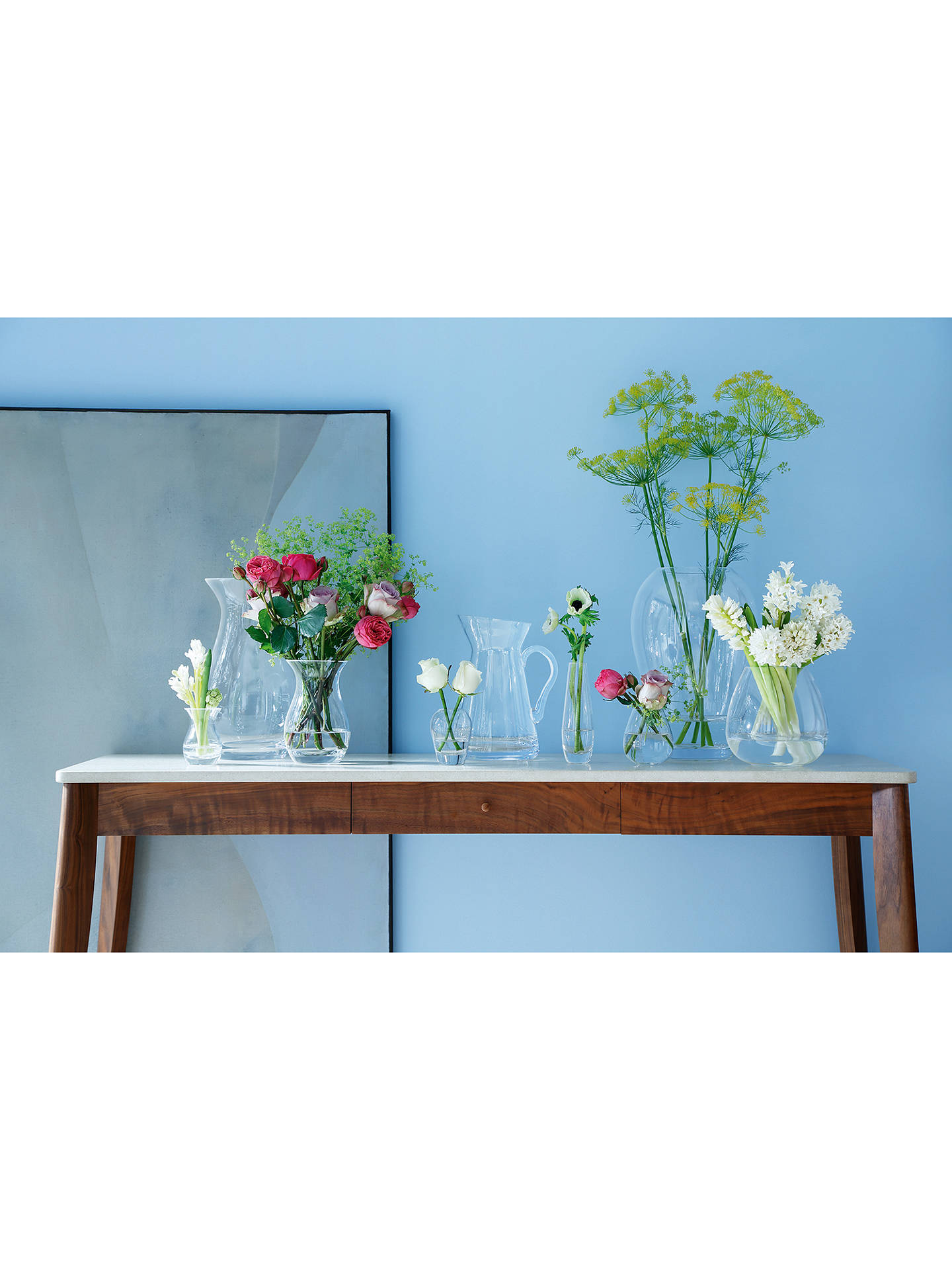 LSA Flower Posy Vase, H17cm at John Lewis & Partners