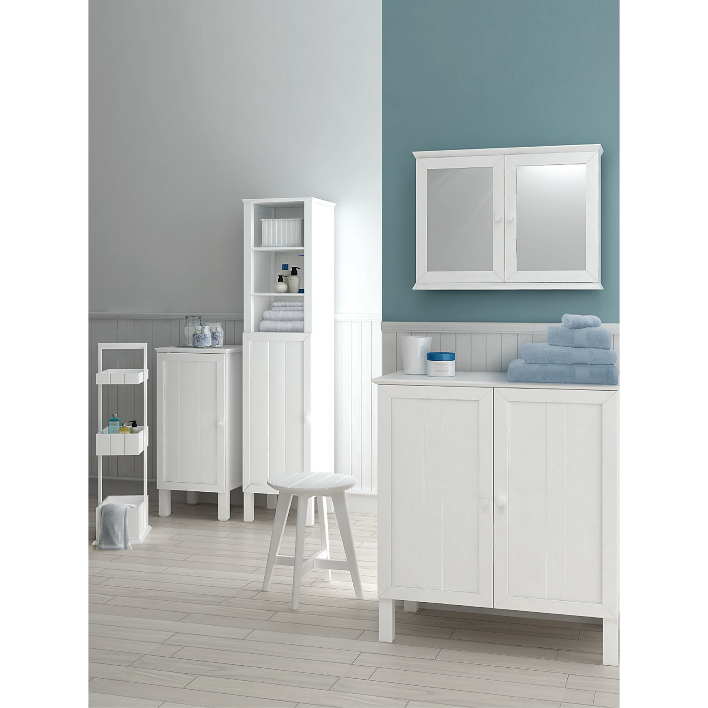 ... Buy John Lewis St Ives Towel Cupboard Online At Johnlewis.com ...