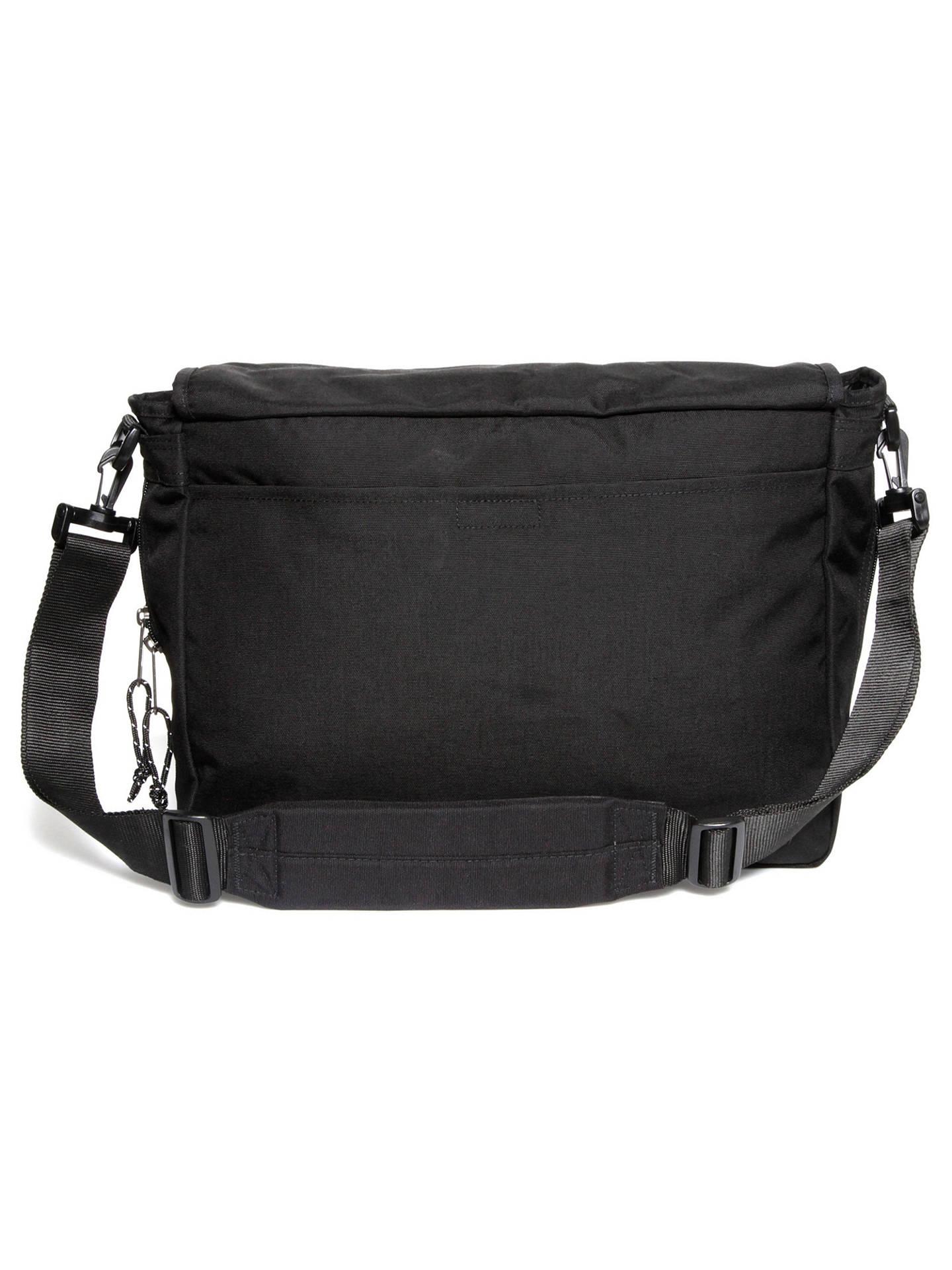 34a953472ed ... Buy Eastpak Delegate Authentic Messenger Bag, Black Online at  johnlewis.com