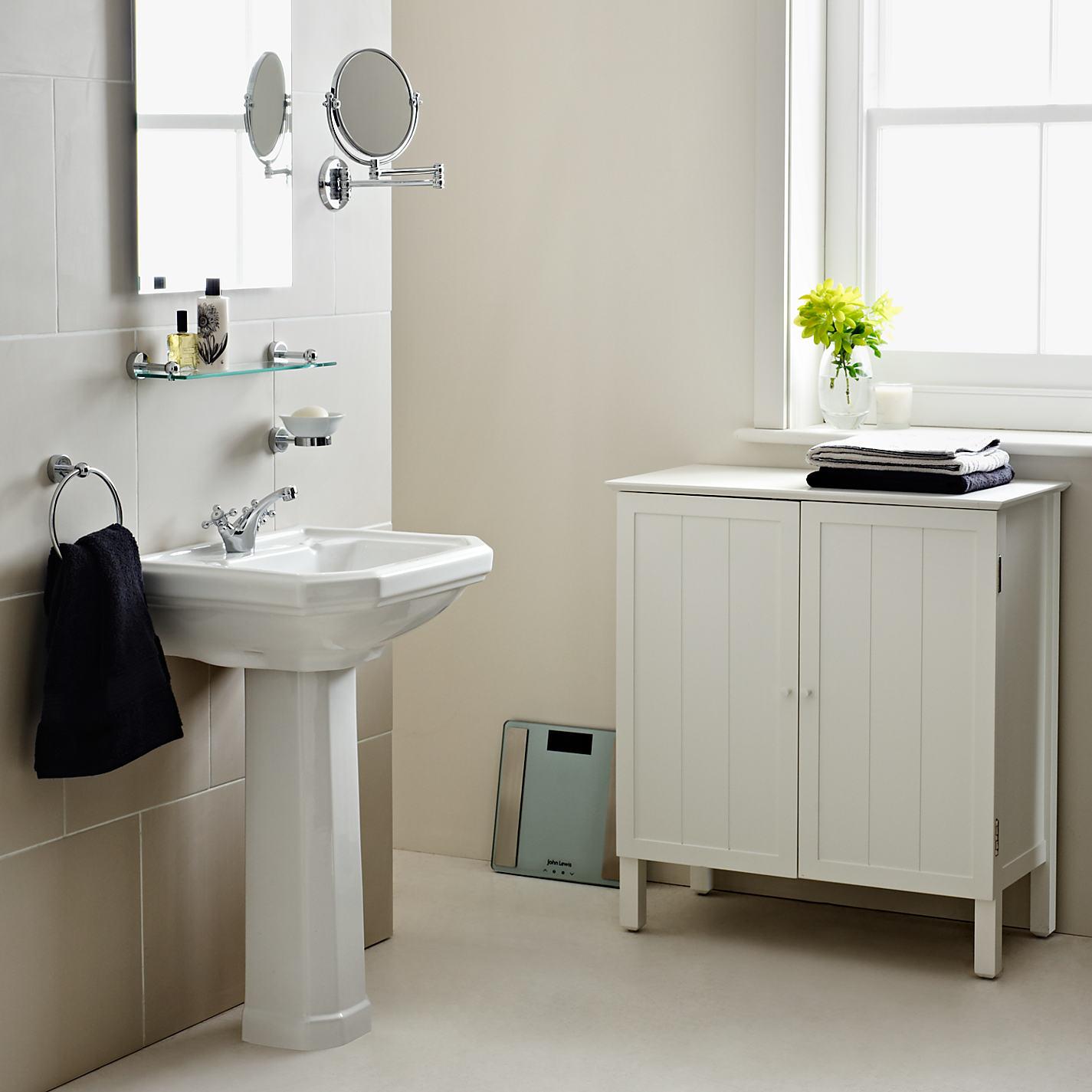 John Lewis St Ives Double Towel Cupboard Online At Johnlewis