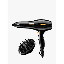 Buy BaByliss Pro Speed 2100 Salon AC Hair Dryer 5541U Online at johnlewis.com